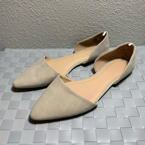 5/$20 Old Navy Toupe D'Orsay Flats Size 9